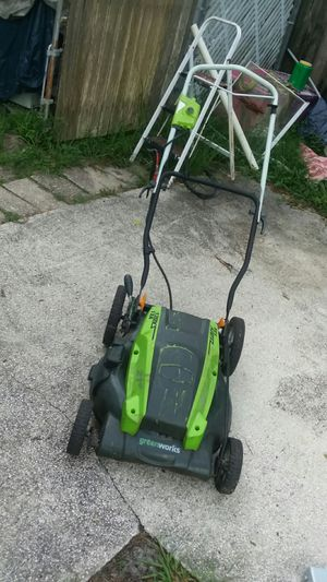 Lawn mower electric by Greenworks for Sale in Casselberry, FL