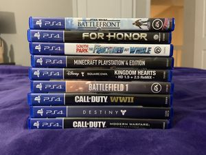 PS4 games for Sale in Fort Lauderdale, FL