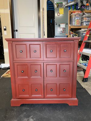 36x36 red cabinet for Sale in Snohomish, WA