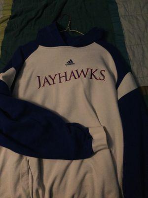 Adidas Kansas Jayhawks hoodie Large for Sale in Arnold, MO