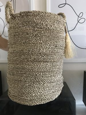 Large, woven plant basket for Sale in Phoenix, AZ
