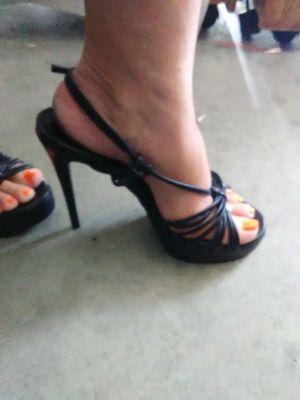 Black high heels - 7 1\2 for Sale in Riverside, CA