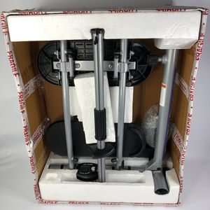NEW Open Box Sunny Health & Fitness SF B0418 Magnetic Mini Exercise Bike Gray for Sale in Vallejo, CA