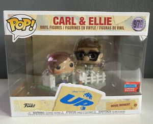 "Disney Up ""Carl & Ellie"" New York Comic Con Exclusive Funko Pop for Sale in Los Angeles, CA"