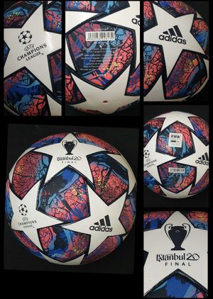 SOCCER BALL BRAND NEW MATCH BALL FIFA APPROVED CHAMPIONS LEAGUE NOT REPLICA OR TRAINING OFFICIAL SOCCER MATCH BALL SIZE 5 for Sale in Springfield, VA