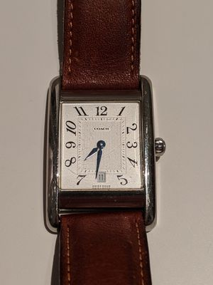 Unisex coach watch model number W502B for Sale in Shady Shores, TX
