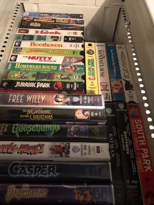 25 - VHS Tapes for Sale in Houston, PA