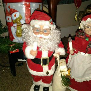 Santa Claus And Mrs. Claus for Sale in Evansville, IN