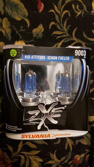 Sylvania zxe silverstar headlight bulbs size 9003 for Sale in Austin, TX