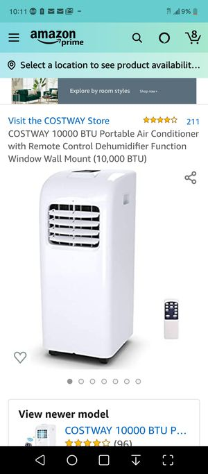 COSTWAY PORTABLE AIR-CONDITIONING for Sale in Pittsburg, CA