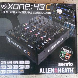 ALLEN AND HEATH XONE 43C 4 CHANNEL DJ MIXER SERATO DJ READY. XONE:43C TRAKTOR for Sale in Union City, CA