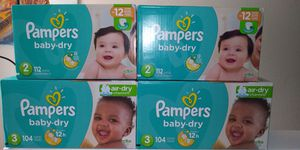 Pampers Diapers - ALL Sizes for Sale in Tallahassee, FL