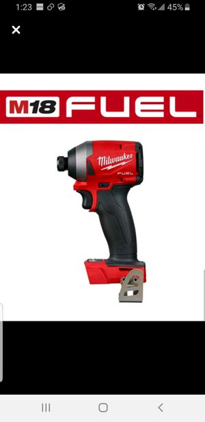 Milwaukee impact drill for Sale in Traverse City, MI