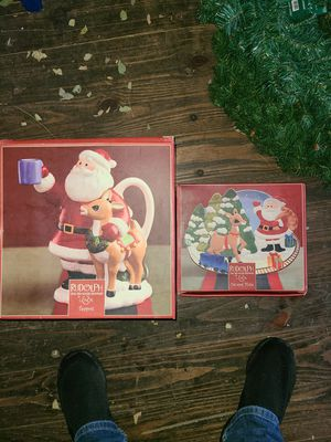 Christmas Rudolph set for Sale in Bolingbrook, IL