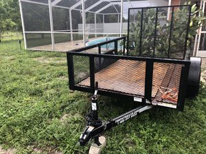 New open trailer 6x10 only 6 months I used I buy it new for Sale in Naples, FL