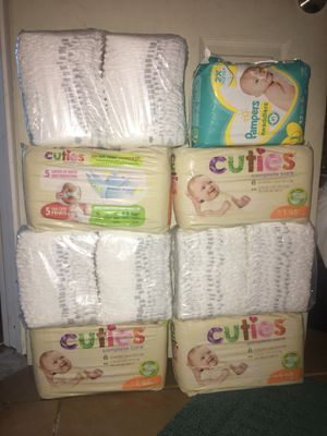 Size 1 Pampers. for Sale in Fallbrook, CA
