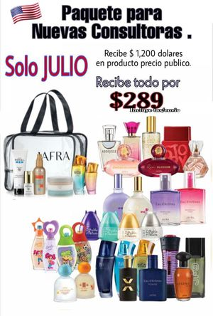 Jafra fragrances pack for Sale in Channelview, TX