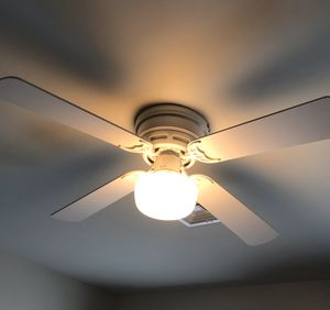 Flush Mount Ceiling Fan With Light for Sale in Manheim, PA