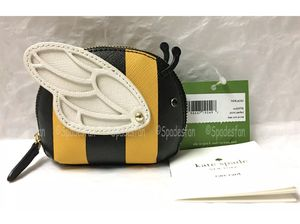 NWT! Kate Spade leather bumble bee coin purse for Sale in Dearborn Heights, MI