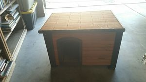 Precision wood insulated dog house for Sale in Rancho Cucamonga, CA