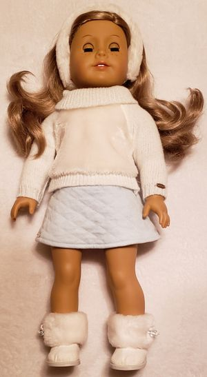 American Girl Doll 18 inch brown eyes freckles medium length wavy hair for Sale in Pittsburg, CA