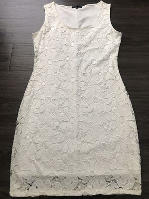 Beautiful White Lace Dress/ plus FREE ITEM for Sale in Winter Haven, FL