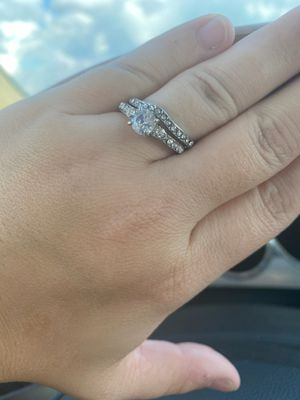 Wedding ring set for Sale in Rochester, IN