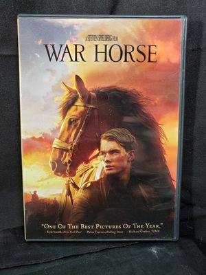 Dream works War Horse Dvd rated PG 13 for Sale in Zanesville, OH