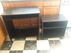 Tv stand and computer desk for Sale in Lowell, MA