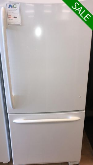 FREE DELIVERY!! GE CONTACT TODAY! Refrigerator Fridge Bottom Freezer #1474 for Sale in Fort Washington, MD