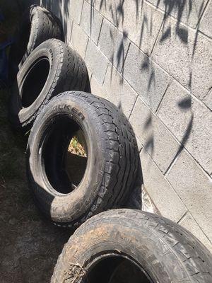 285 70 17 (4) tires for Sale in Santa Ana, CA