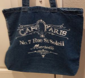 Denim Tote Bag for Sale in Chino, CA