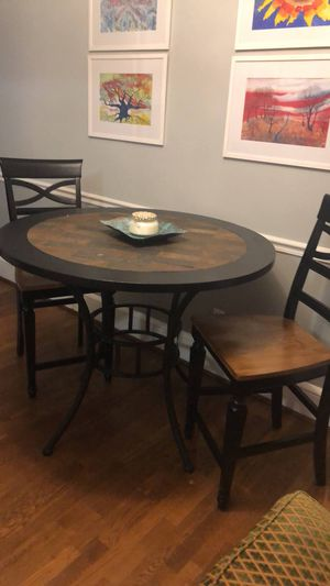 Marble counter height table and chairs. Chairs can be sold separately. for Sale in Charlotte, NC