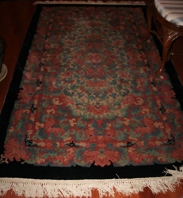 Set of 4 Antique Collectible Chinese Rugs
