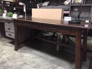 Large Rustic Brown Office Desk for Sale in Norwalk, CA