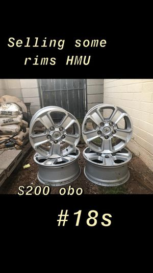 New rims 18 for Sale in Fort McDowell, AZ