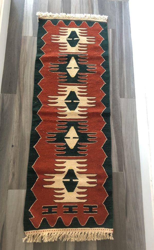 Flat Weave Kilim Rug