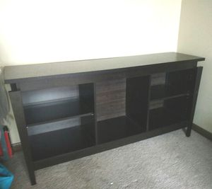 New/Assembled Hollowcore Media Stand/Buffet, Espresso for Sale in Fairfield, OH