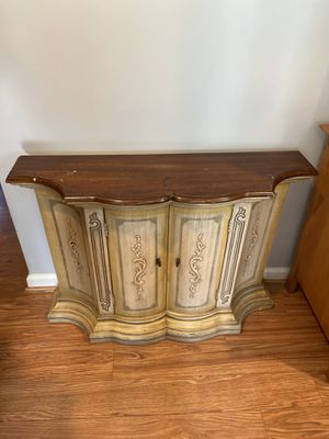 Antique Console Hall Table with storage for Sale in Oxon Hill, MD