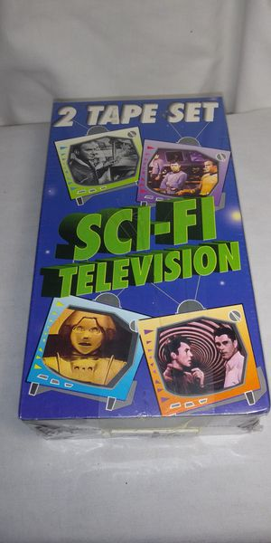 2 tape sci-fi television VHS Sealed for Sale in Riverside, CA