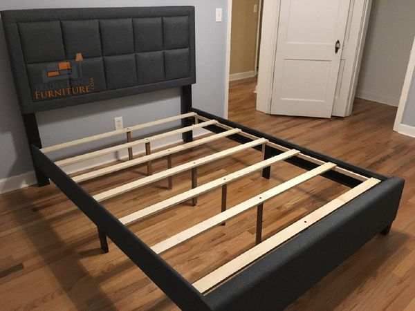 Brand new queen size platform bed frame (it's also available in king and in full size)