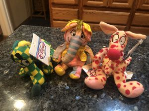 Disney 3 New Beanie Babies With Tags from Disneyland for Sale in Artesia, CA