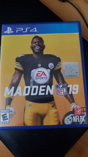 Ps4 Madden 19 for Sale in Union City, CA