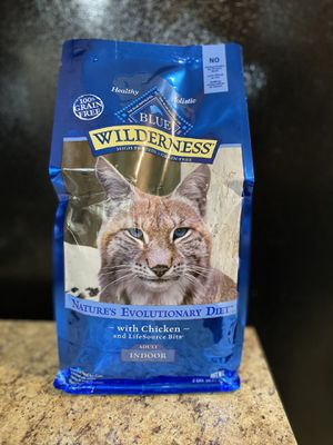 Blue wilderness dry cat food 2Lb for Sale in Tampa, FL
