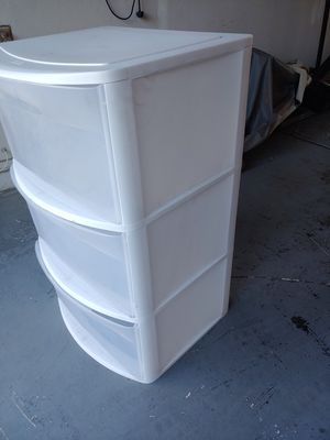 Plastic drawers for Sale in Chandler, AZ