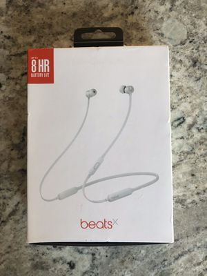 BeatsX Wireless Headphones in Satin Silver - Make Offer!!! for Sale in Paradise Valley, AZ