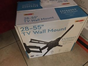 """28""""-55"""" Extended TV wall mount Full Motion for Sale in Orlando, FL"""