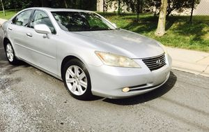2007 Lexus ES 350 + Silver on Silver + Clean title for Sale in Kensington, MD