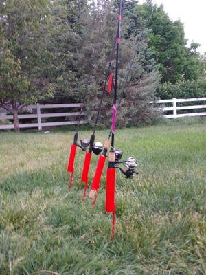 Custom fishing pole holders heavy duty for Sale in Mead, CO