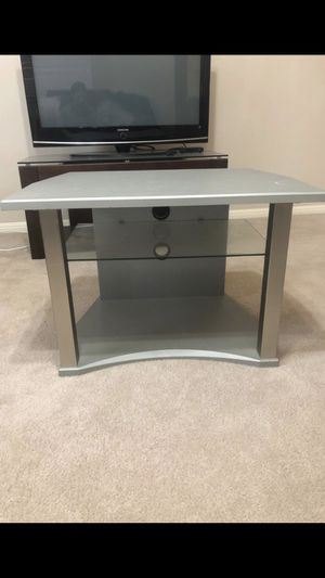 Grey Coffee Table with Glass Shelf for Sale in Austin, TX